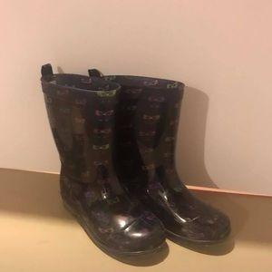 Girls (kids) rain boots